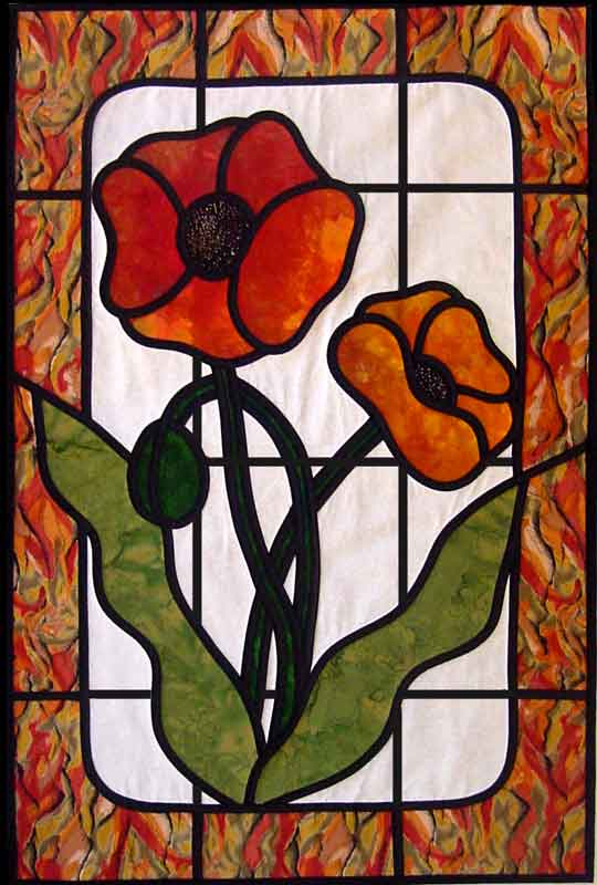 Stained Glass Applique For Beginners 187 Academy Of Quilting